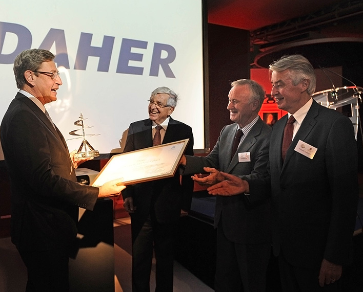 2013 Prize awarded to the DAHER firm