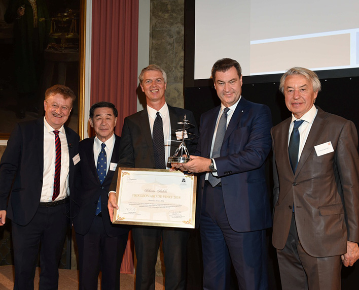 2018 Prize awarded to Schwan-STABILO