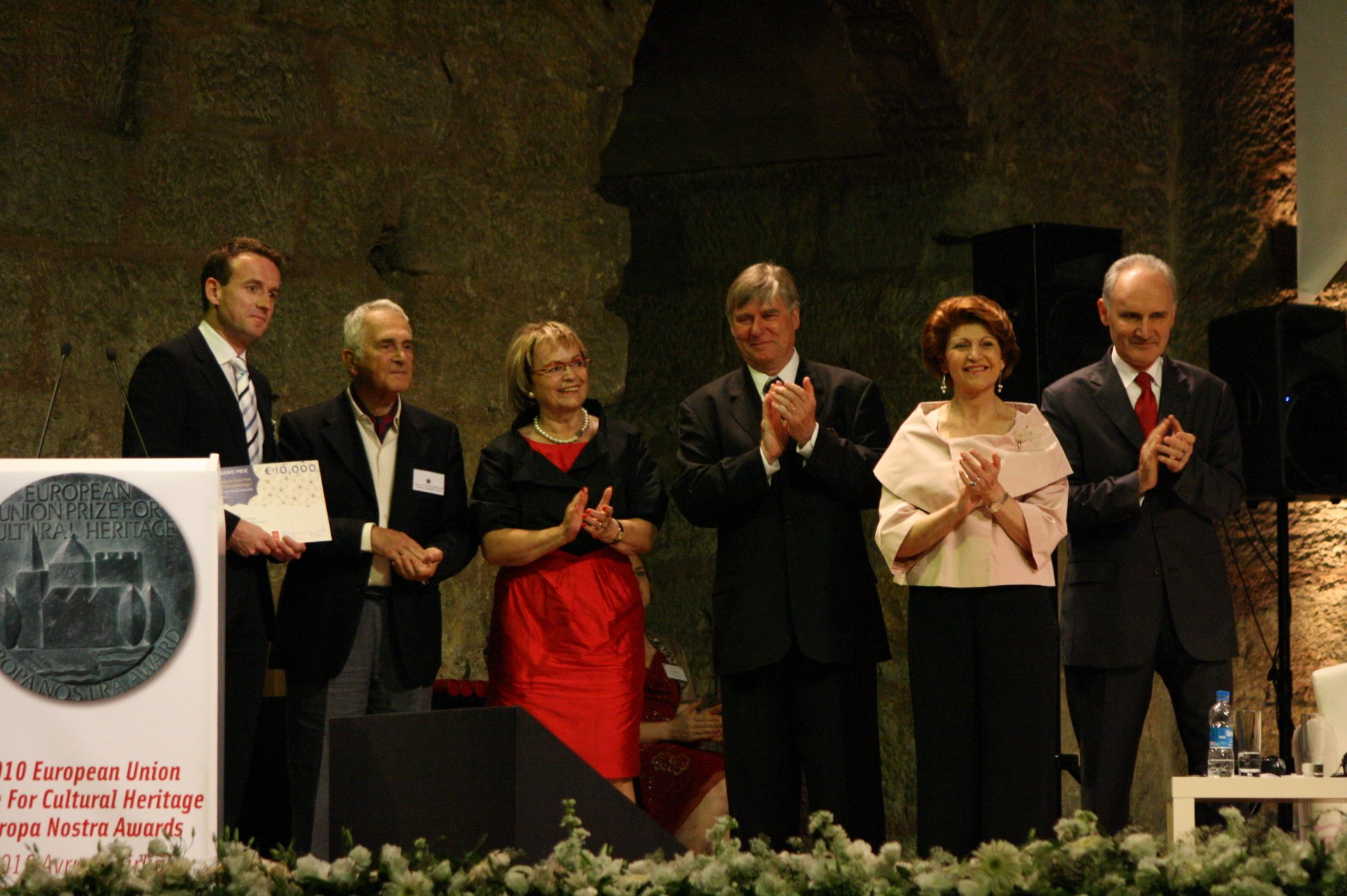 European Union Prize for Cultural Heritage/Europa Nostra Awards ceremony