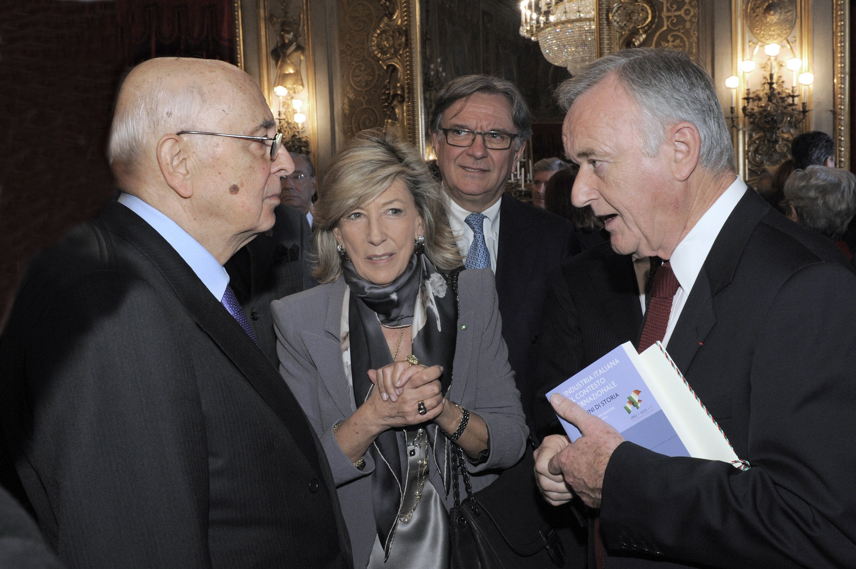 Leonardo Committee Prize awarded at Quirinal Palace Ceremony on 25 January 2012